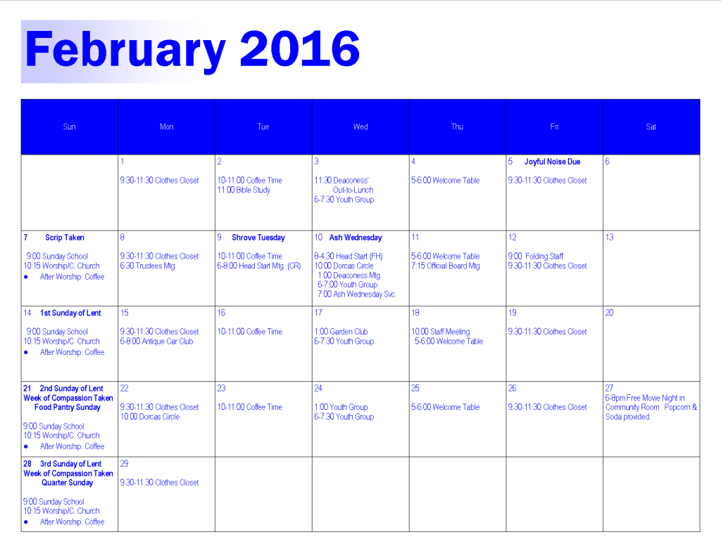 Feb 2016